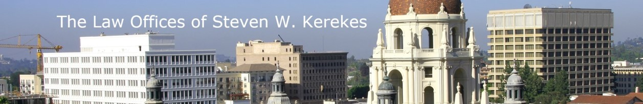 Pasadena Business & Real Estate Attorneys - Steven Kerekes